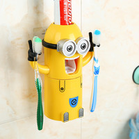 Automatic Toothpaste Dispenser+Toothbrush Holder