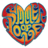 Summer of Love Heart Embroidered Patch /  Iron On Applique,  Groovy Sixties, Hippie, San Francisco, Retro, Music