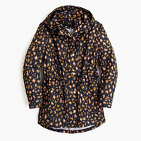 Perfect rain jacket in leopard