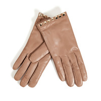 Valentino - Studded Leather Gloves