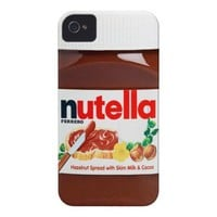 Nutella iPhone case iPhone 4 Cover from Zazzle.com