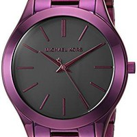Michael Kors Watches Slim Runway Three-Hand Watch