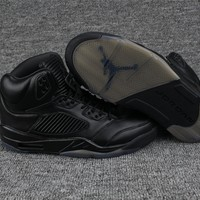 AIR JORDAN 5 all black men