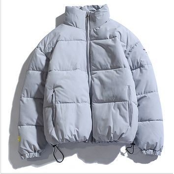 Explosion style hot sale warm thick cotton fashion short padded jacket stand collar jacket