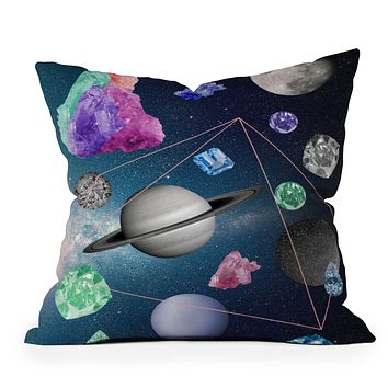 Ceren Kilic In The Sky Throw Pillow