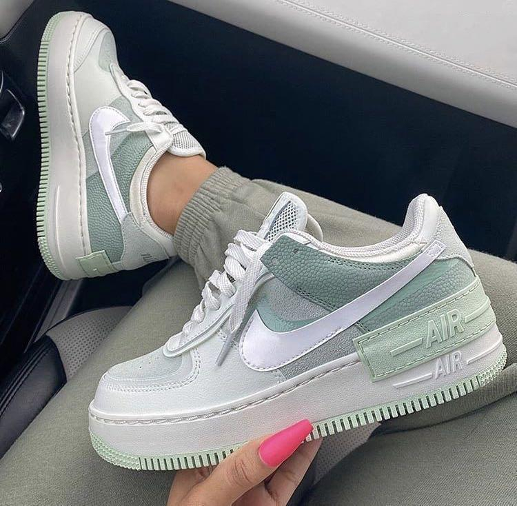 Image of Nike Air Force 1 Shadow Macaron Stitching High-quality Low-top Sneakers Shoes