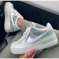Nike Air Force 1 Shadow Macaron Stitching High-quality Low-top Sneakers Shoes