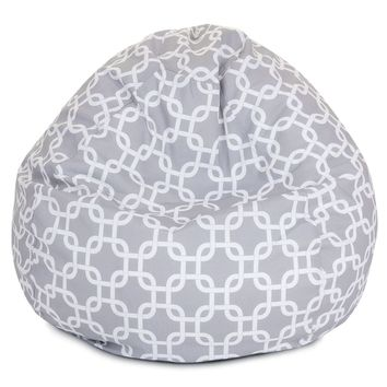 Gray Links Small Classic Bean Bag