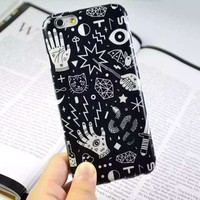 Stylish Iphone 6/6s Hot Sale Hot Deal Cute On Sale Simple Design Iphone Apple Silicone Phone Case [6034060673]