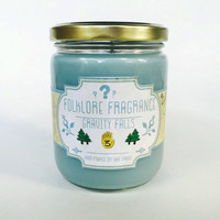 Gravity Falls - Gravity Falls Inspired Scented Soy Candle (Fir Needle + Pine)