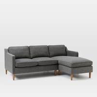 Hamilton 2-Piece Upholstered Chaise Sectional