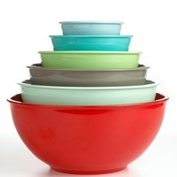 Martha Stewart Collection Mixing Bowls, Set of 6 Melamine - Martha Stewart Collection - Kitchen - Macy's