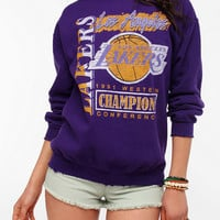 Junk Food LA Lakers Basketball Sweatshirt