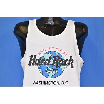 90s Hard Rock Cafe Save Planet Earth t-shirt Large