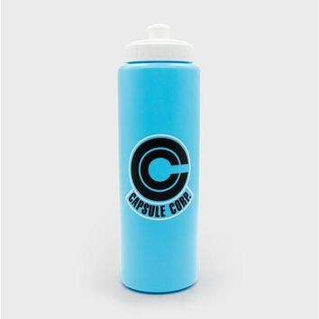 Dragon Ball Capsule Corp. Logo Water Bottle