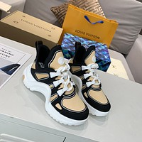 lv louis vuitton womans mens 2020 new fashion casual shoes sneaker sport running shoes 306
