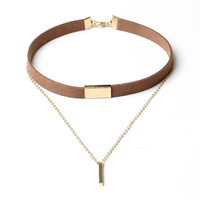 2016 New Black Velvet Choker Necklace Gold Chain Bar Chokers Chocker Necklace For Women collares mujer collier ras du cou
