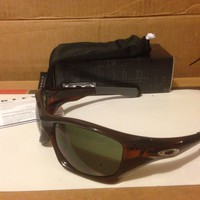 NEW Oakley - Pit Bull - Sunglasses, Polished Rootbeer / Dark Grey, OO9127-20