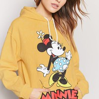 Minnie Mouse Graphic Pullover Hoodie
