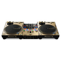 Pioneer: DJM-S9-N And PLX-1000-N Limited Edition Gold Rig