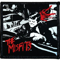 Misfits Iron-On Patch Bullet Logo