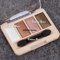 4 Colors Makeup Neutral Urban Shimmer Eye Shadow Palette Nude Eyeshadow Cosmetic