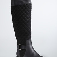 Quilted Harness Tall Boots (Wide Width & Wide Calf)