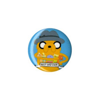 Adventure Time Best Dad Ever Pin