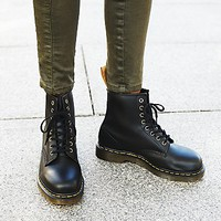 Dr. Martens Womens Vegan 1490 Ankle Boot