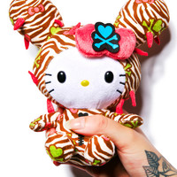 Sanrio Tokidoki X Hello Kitty Summer Safari Cactus Kitty Plush Beige One