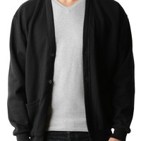 PREMIUM Mens Oversized Soft Knit V Neck Cardigan Sweater (CLEARANCE)
