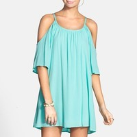 dee elle Cold Shoulder Dress (Juniors)
