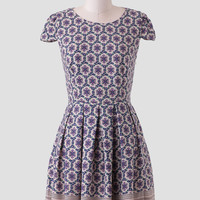 Paris Streets Printed Dress