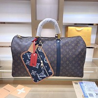 LV large capacity men and women all-match travel bag
