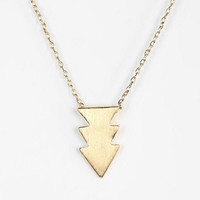 Triple Arrow Necklace - Urban Outfitters