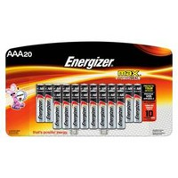 Energizer Max AAA Batteries 20 Count (E92LP-20)