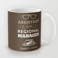The Office, Dwight Schrute, Assistant to the Regional Manager, Dunder Mifflin, Coffee Mug