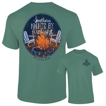 Southernology Southern Nights by Firelight Fall Comfort Colors T-Shirt