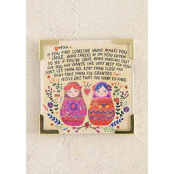 For Someone Who Makes You Laugh Corner Magnet