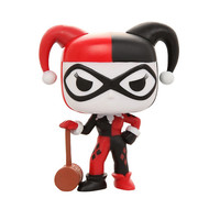 DC Comics Pop! Heroes Harley Quinn With Mallet Vinyl Figure