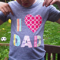 Valentine Day Mom Dad or You Pink and Red Love Shirt Valentines Heart