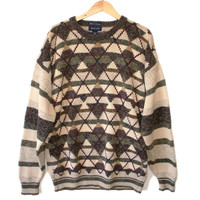 Olive & Tan Argyle Cosby / Golf Ugly Sweater – Big / Tall