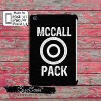 Mccall Pack Teen Wolf Inspired Symbol Stiles Stilinski Lydia Allison Kira Scott Isaac Custom iPad Mini, iPad 2/3/4 and iPad Air Case Cover
