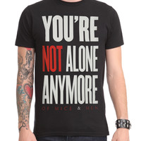 Of Mice & Men You're Not Alone Slim-Fit T-Shirt