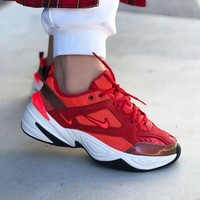 Nike M2K Tekno Red Sneakers