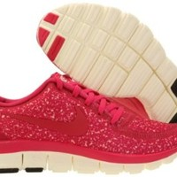 Womens Nike FREE 5.0 V4 Running Shoes Sail / Pink Force 511281-101 Size 6