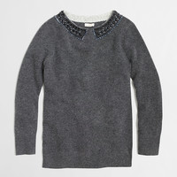 Factory embellished sweater : Sweaters | J.Crew Factory