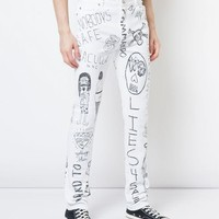 Haculla Mindful Doodles Jeans - Farfetch