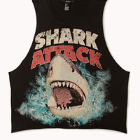 Shark Attack Muscle Tee