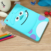 Hot 3D Cartoon Monsters University Tigger Sulley Cheshire Cat Soft Silicon Funda Case Cover For iPad 2 3 4 Air 1 2 Mini 4 3 2 1